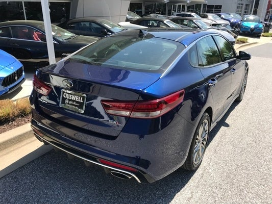 2017 Kia Optima Sxl Turbo In Germantown Md Criswell Maserati