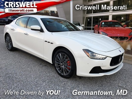 shop the 2017 maserati ghibli s q4 in germantown, md at criswell