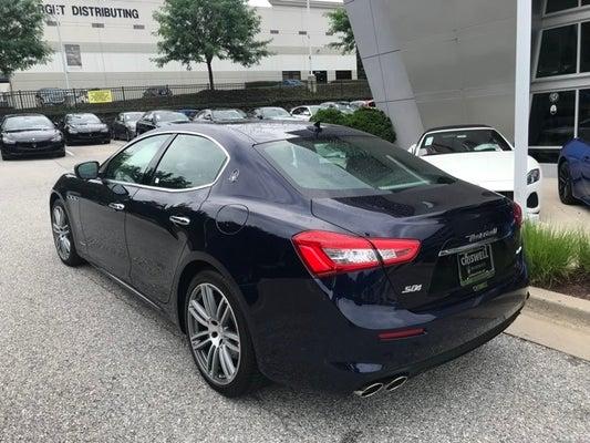 Maserati Ghibli S Q4 >> Shop The 2018 Maserati Ghibli S Q4 Granlusso In Germantown Md At